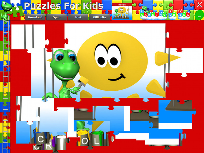 Puzzles For Kids Screenshot