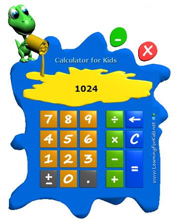Calculator for Kids Screenshot