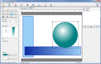DrawPad Graphic Editor Screenshot