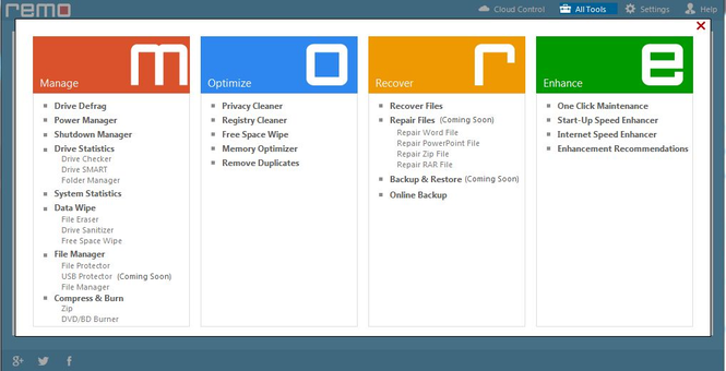 Remo MORE for Windows Screenshot 4