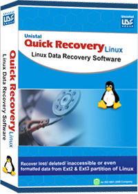 Free Recover Linux Data Screenshot