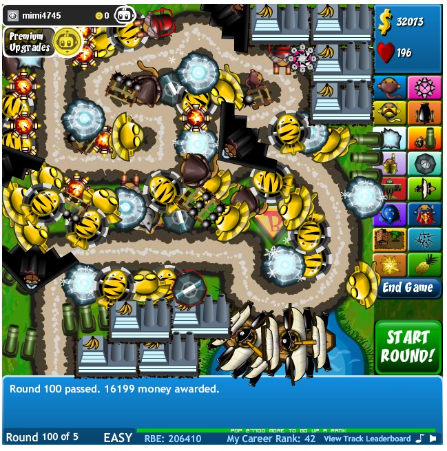 Bloons Tower Defense 4 Screenshot 2