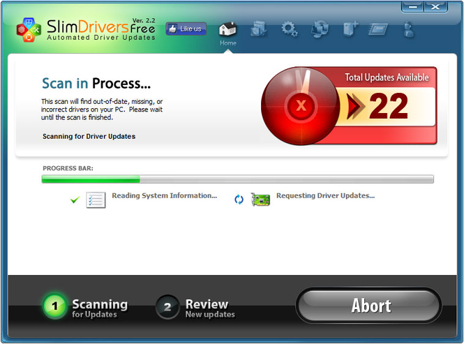 Slim Drivers Screenshot 3