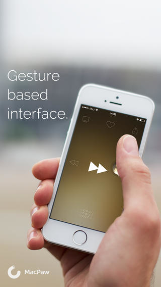 Listen: The Gesture Music Player Screenshot