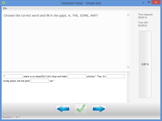 Testcheck Screenshot 1