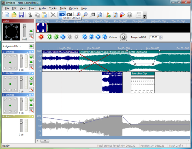 Nero SoundTrax Screenshot 1