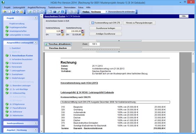 HOAI-Pro Screenshot 1