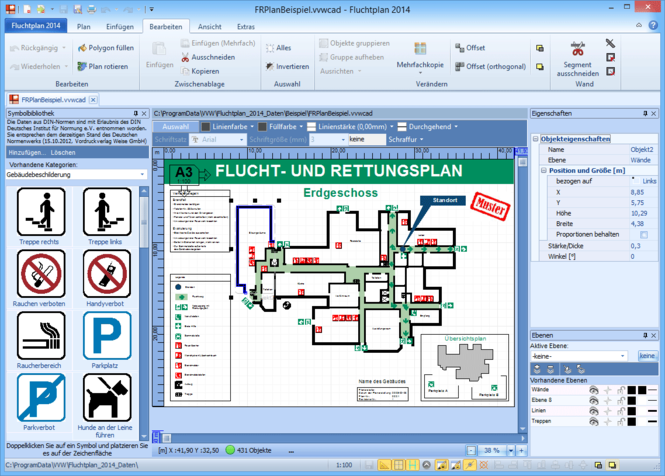 Fluchtplan Screenshot