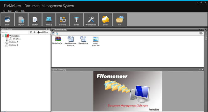 Filemenow Screenshot