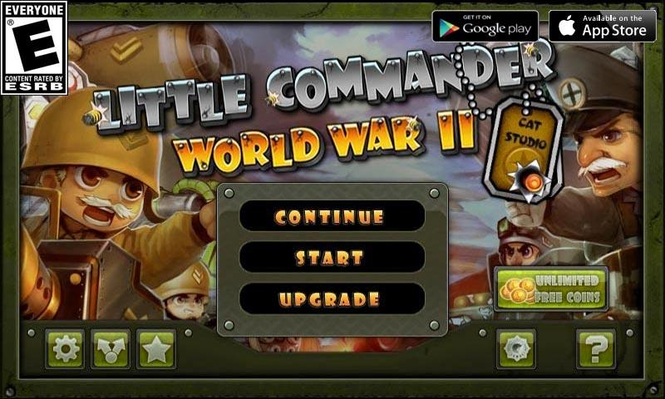 Little Commander - WWII TD Screenshot 1