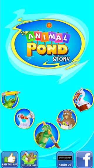 Animal Pond - Kids Draw Color Paint & Story Book Screenshot 1