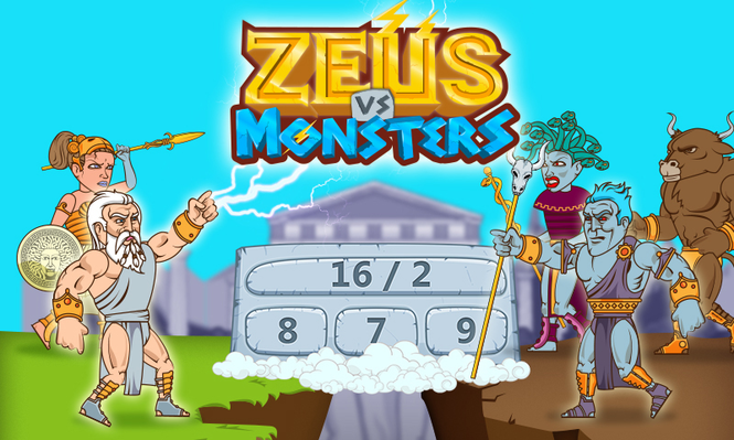 Zeus vs. Monsters - Math Game Screenshot 1