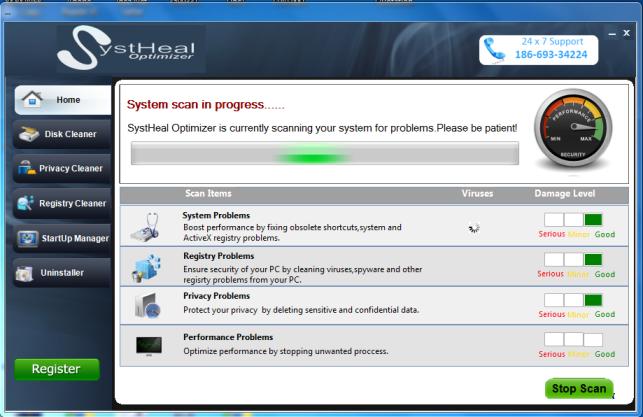 SystHeal Pro Screenshot