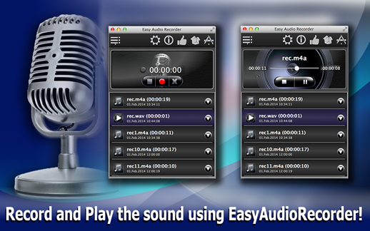 EasyAudioRecorder Screenshot 1