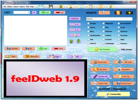 feelDweb Screenshot 1
