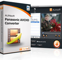 Aunsoft Panasonic AVCHD Converter Mac Screenshot 1