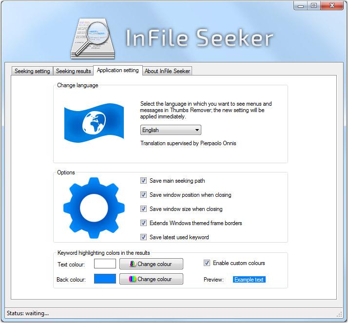 InFile Seeker Screenshot 7