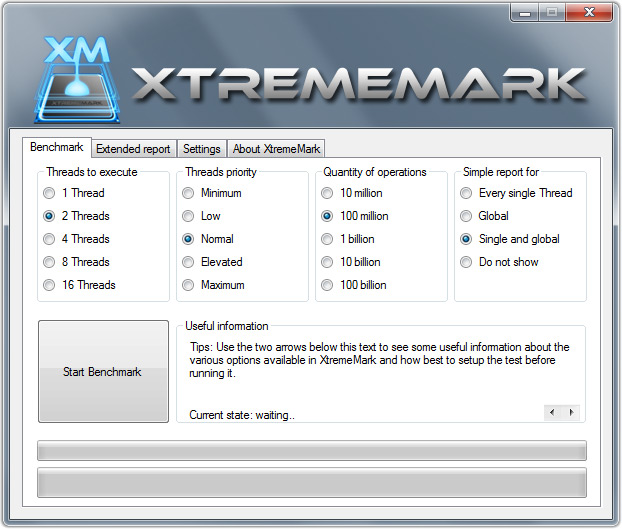 XtremeMark Screenshot