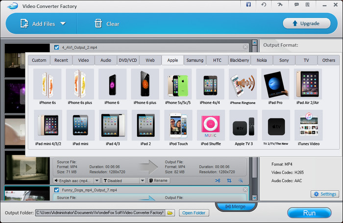 Free Video Converter Factory Screenshot 3