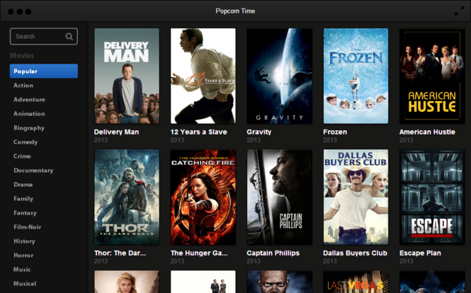 Download Popcorn Time 3 8 2