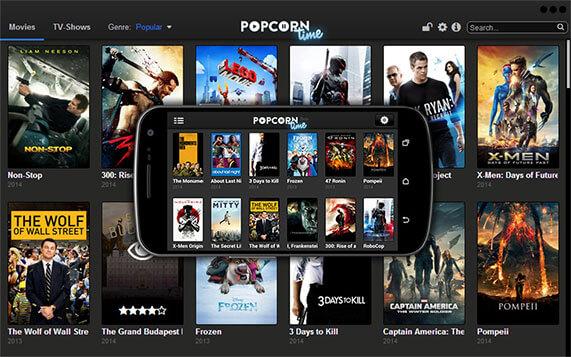 Popcorn Time Screenshot 1
