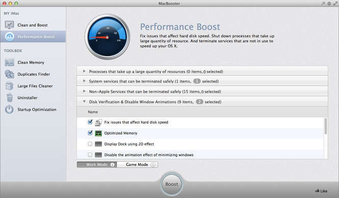 MacBooster Screenshot 2