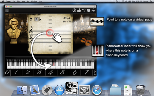 PianoNotesFinder Screenshot 1