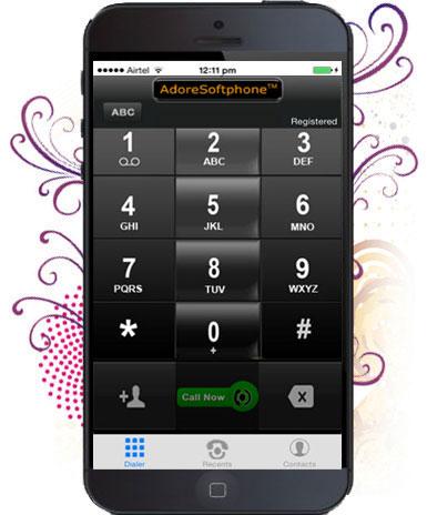 iPhone SIP Client Screenshot 1