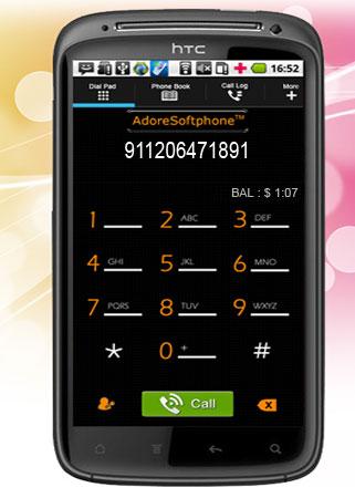 AdoreSoftphone Screenshot 1