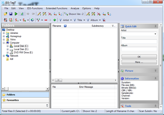 ID3-TagIT Screenshot