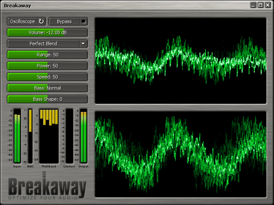 Breakaway Audio Enhancer Screenshot