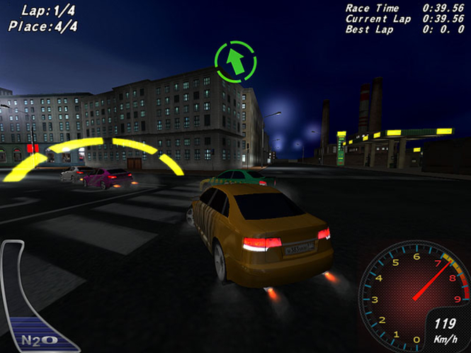 Night Street Racing Screenshot 1