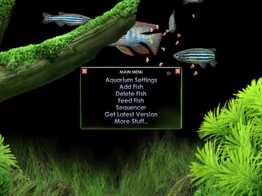 Dream Aquarium Screensaver Screenshot 2