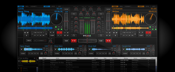 Mixxx Screenshot 2