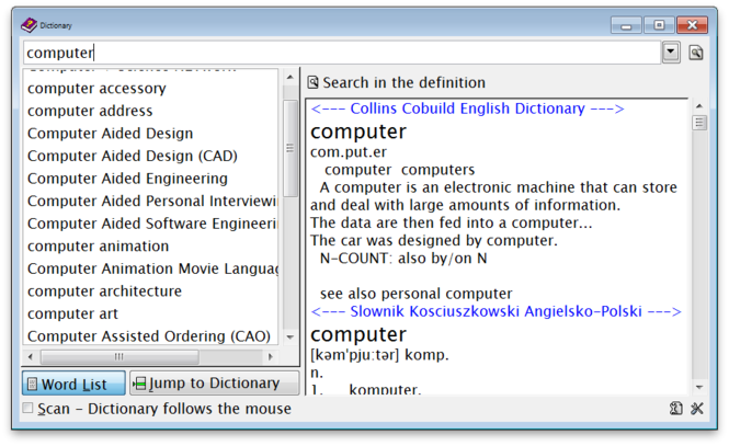 Ultimate Dictionary Screenshot 1