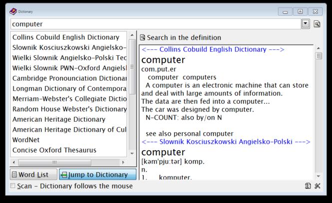 Ultimate Dictionary Screenshot 2