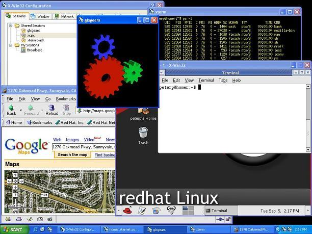 X-Win32 Screenshot