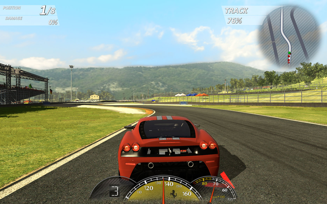 Ferrari Virtual Race Screenshot