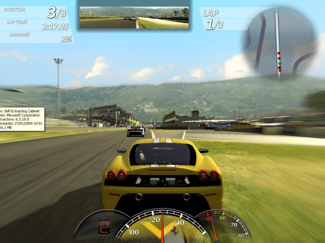 Ferrari Virtual Race Screenshot 2