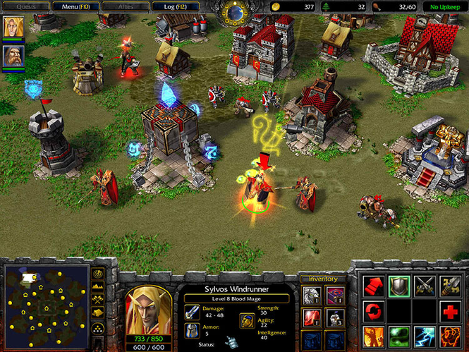Warcraft III: The Frozen Throne Screenshot 3