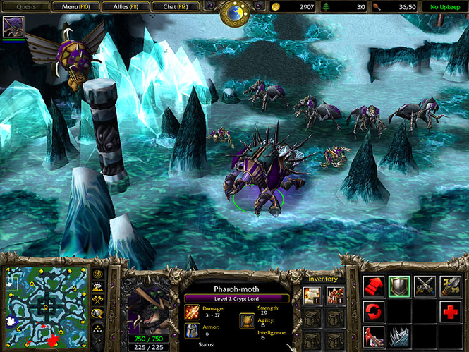 Warcraft III: The Frozen Throne Screenshot 6