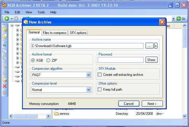 KGB Archiver Screenshot 3