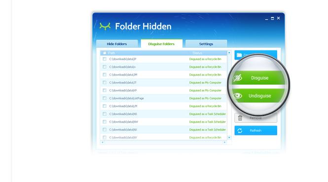 Folder Hidden Screenshot 3