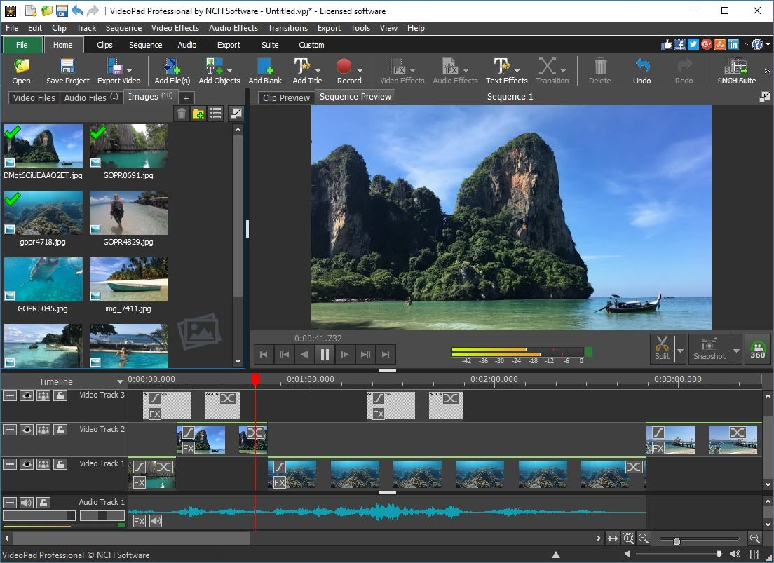 Download VideoPad Master's Edition 10.47