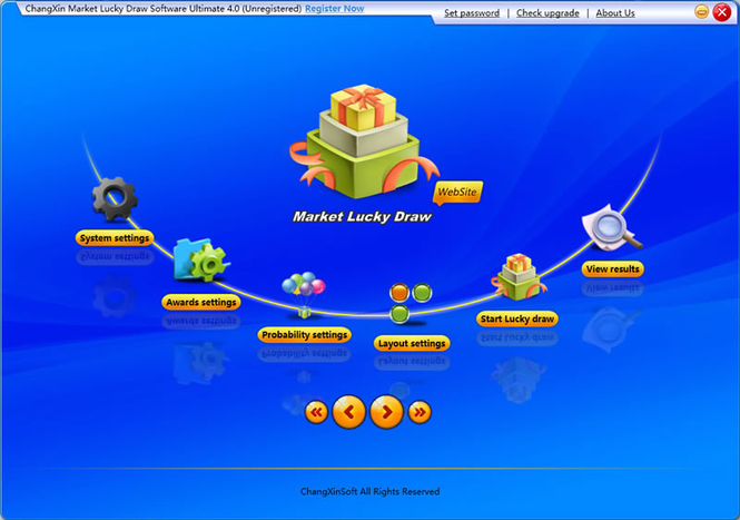 ChangXin Market Lucky Draw Software Ultimate version Screenshot