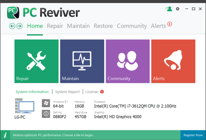PC Reviver Screenshot 1
