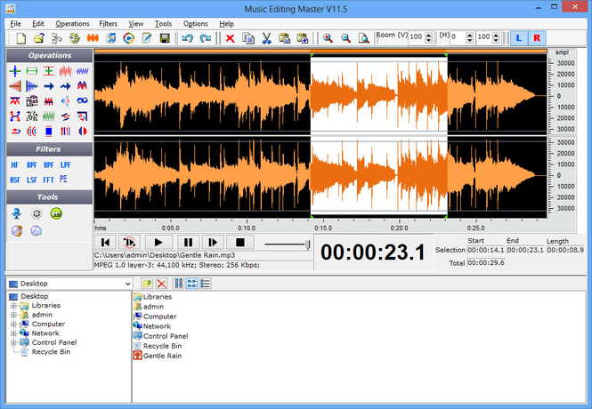 Music Editing Master Screenshot 1
