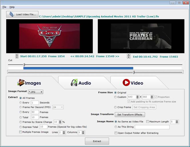 VideoDetach Pro Screenshot
