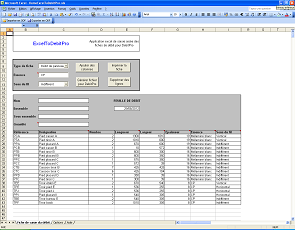 ExcelToDebitPro Screenshot 1