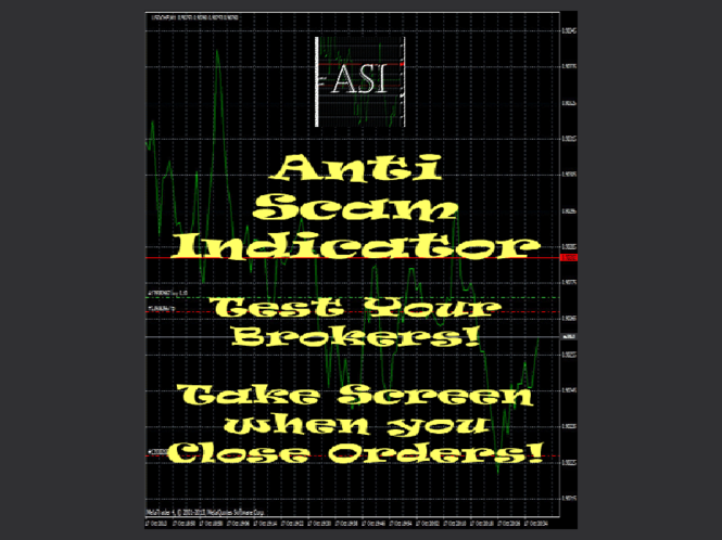 Anti Scam Indicator for MetaTrader 4 Screenshot